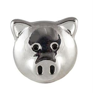 Picture of Silver Pig Charm